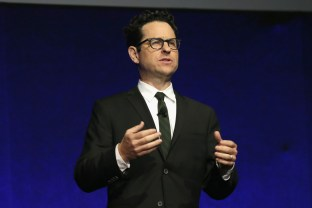 LAS VEGAS, NV - APRIL 11: Director J.J. Abrams speaks onstage during the CinemaCon 2016 Gala Opening Night Event: Paramount Pictures Highlights its 2016 Summer and Beyond Films at The Colosseum at Caesars Palace during CinemaCon, the official convention of the National Association of Theatre Owners, on April 11, 2016 in Las Vegas, Nevada. (Photo by Todd Williamson/Getty Images for CinemaCon) *** Local Caption *** J.J. Abrams
