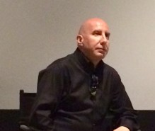 Executive Producer, Chris Concannon, at Laemmle Monica Film Center during a Q & A, following the pre-OPening Weekend screening of his first feature documentary, Art Bastard.