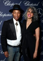 PALM SPRINGS, CA - JANUARY 02: Producers Pharrell Williams and Mimi Valdes attend the 28th Annual Palm Springs International Film Festival Film Awards Gala at the Palm Springs Convention Center on January 2, 2017 in Palm Springs, California. (Photo by Todd Williamson/Getty Images for Palm Springs International Film Festival)