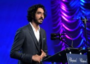 PALM SPRINGS, CA - JANUARY 02: Actor Dev Patel speaks onstage at the 28th Annual Palm Springs International Film Festival Film Awards Gala at the Palm Springs Convention Center on January 2, 2017 in Palm Springs, California. (Photo by Charley Gallay/Getty Images for Palm Springs International Film Festival)