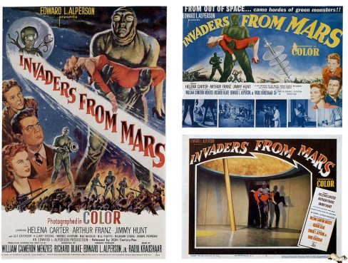 invaders_from_mars_1953_and_2_lobby_cards