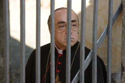 """set of """"The young Pope"""" by Paolo Sorrentino.09/11/2015 sc.219 - ep 2 in the picture Silvio Orlando.Photo by Gianni Fiorito"""