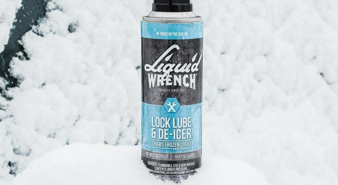 Liquid Wrench Lock Lubricant and De-Icer