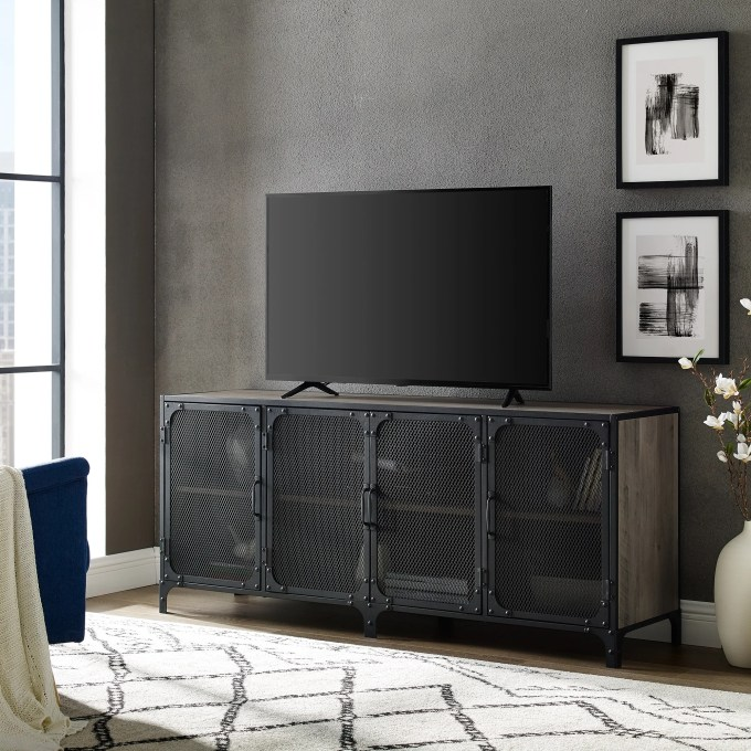 Modern Gothic Living Room TV Stand