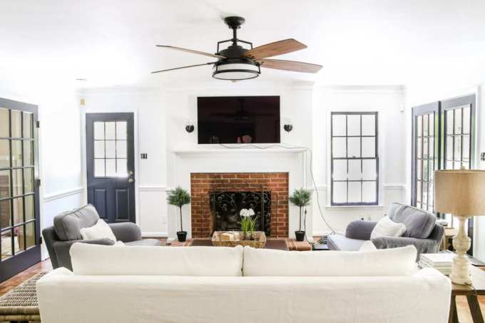 install a comfortable ceiling fan