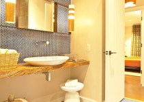 35 Cool Penny Tile Floor Ideas for Any Bathrooms