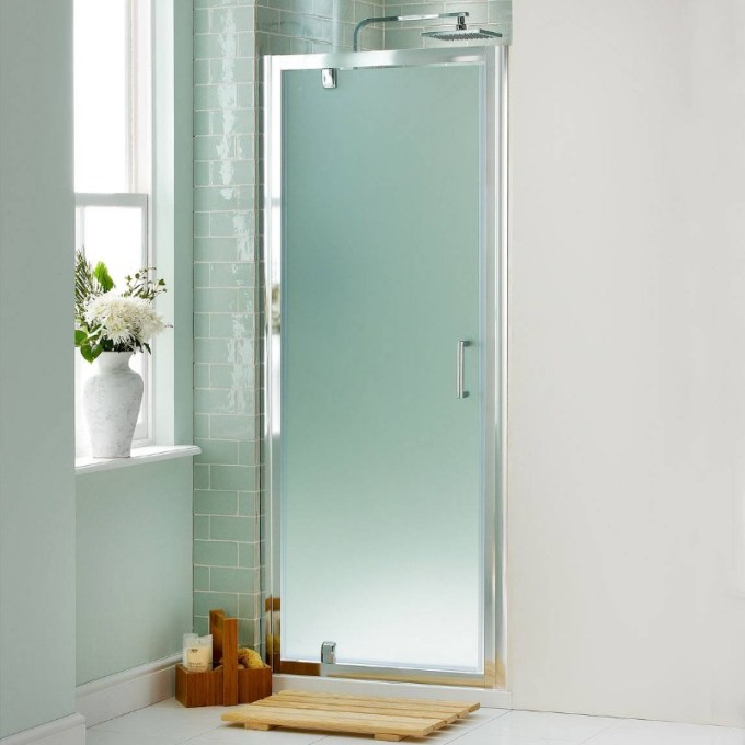Opaque doors with stainless frames