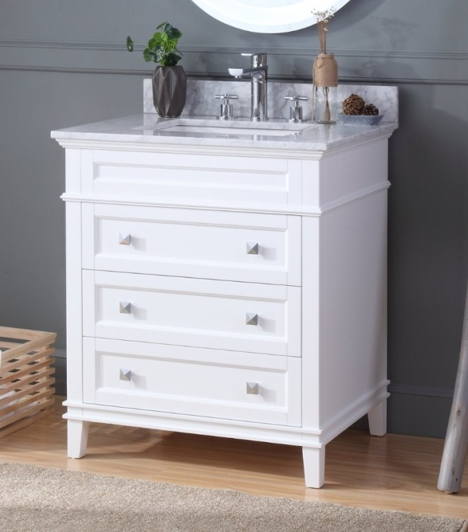 Small Vanity with Legs