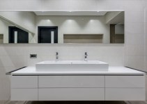 25+ White Bathroom Cabinet Ideas for Sparkling Space