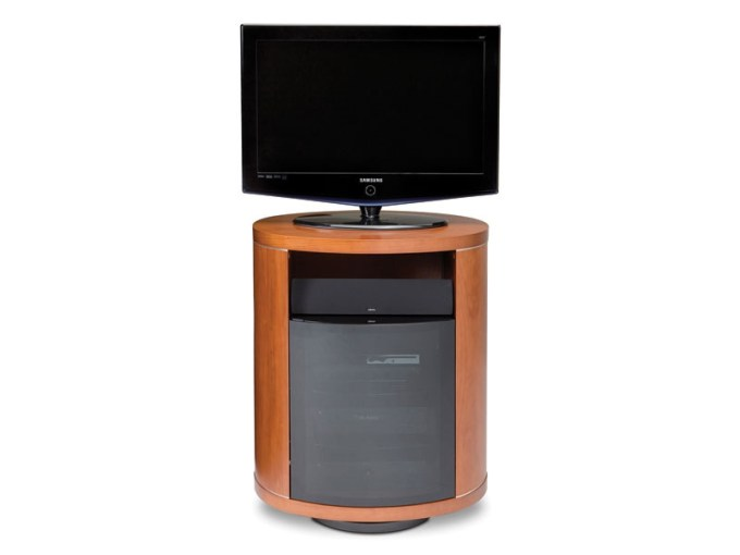cabinets rotating tv stand