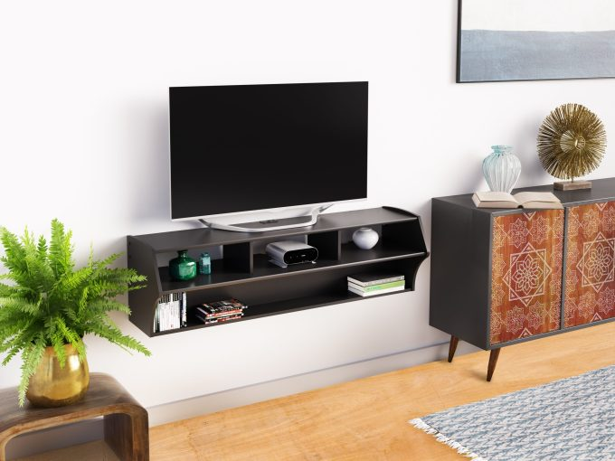 Floating Small TV Stand