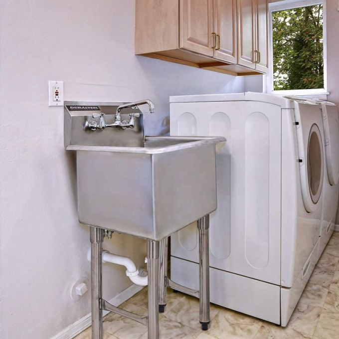 The Best Material for Utility Sinks