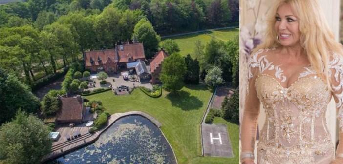 BINNENKIJKEN – Schoonouders PATRICIA PAAY doen haar Adams Family-kasteel in uitverkoop voor € 2.295.000