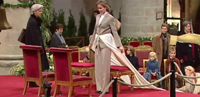 VIDEO – Unieke beelden van hoe Belgische Koningin MATHILDE oefende voor haar huwelijk