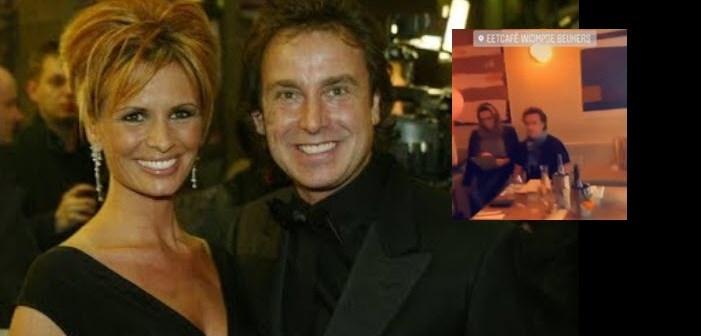 Marco en 'ex' Leontine vieren samen verjaardag Mary Borsato!