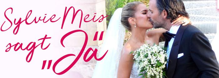 DE EERSTE BEELDEN: Sylvie Meis getrouwd
