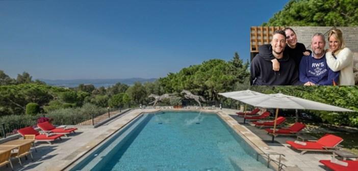BINNENKIJKEN – Voor een gemiddeld JAARSALARIS kunt u deze zomer een WEEKJE de villa van Gert Verhulst in Saint Tropez huren
