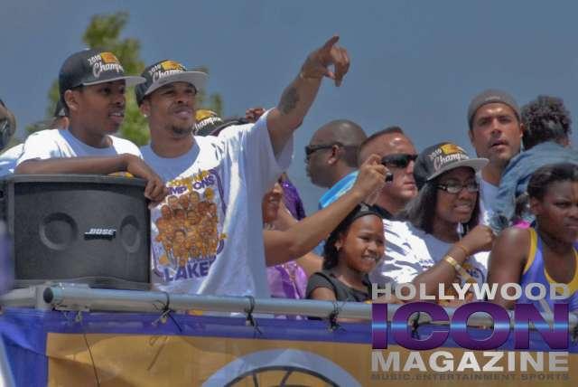 LA Lakers Championship Parade By JB Brookman-17 Shannon Brown