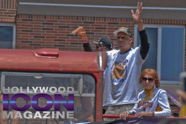 LA Lakers Championship Parade By JB Brookman-39 Kareem
