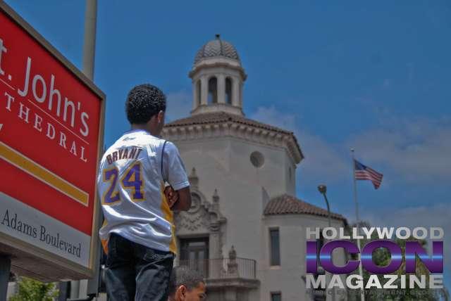 LA Lakers Championship Parade By JB Brookman-9 Kobekid
