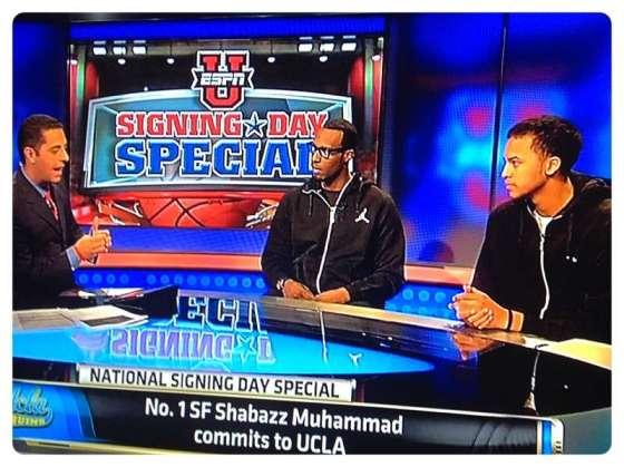 Shabazz Muhammad commits to UCLA.