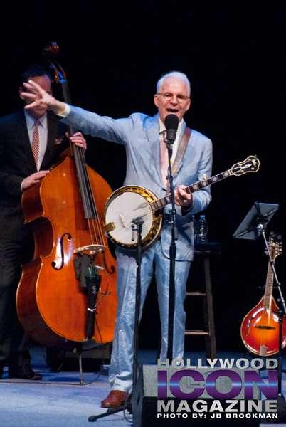 Steve Martin had the Granada Theatre crowd in stitches with his comic flair.  Photo: JB Brookman