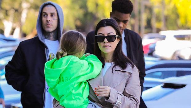 Kourtney Kardashian & Rumored Fling Travis Barker Reunite ...