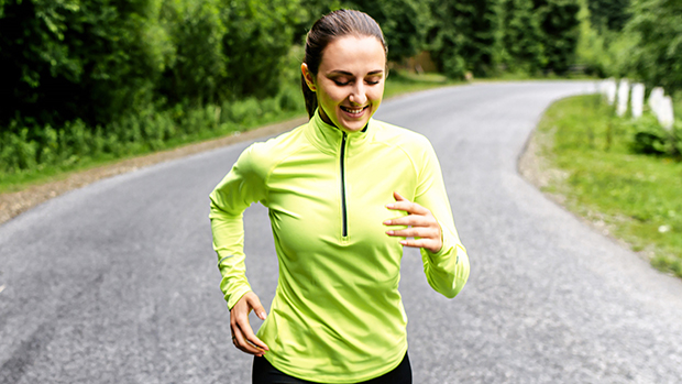 Best Neon Long Sleeve Workout Tops For Jogging OutsideAt Night