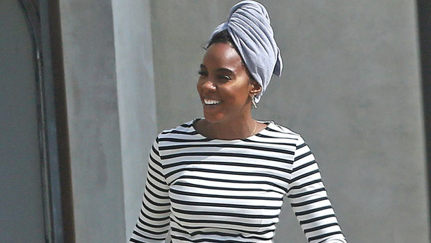 Kelly Rowland Shows Off Baby Bump In Catsuit & Boots — Watch – Gadget Clock