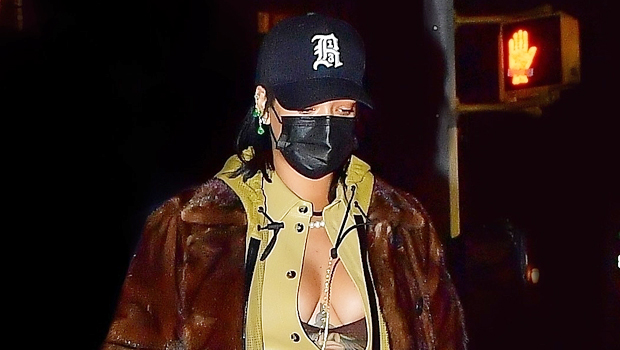 Rihanna Wears Lingerie As A Top For NYC Dinner: Photo – Gadget Clock