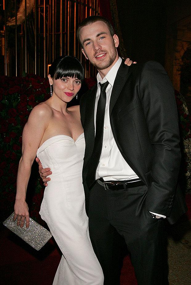 Christina Ricci, Chris Evans