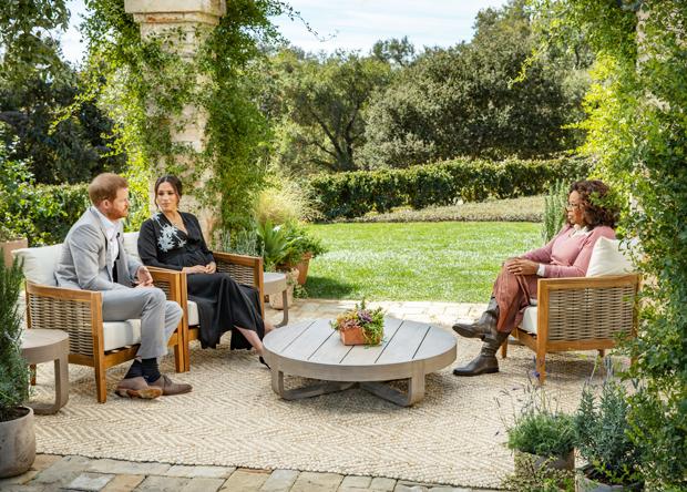 Prince Harry, Meghan Markle, Oprah Winfrey