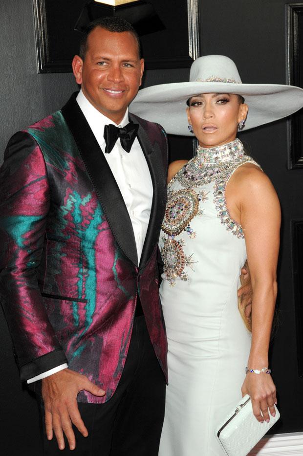 Alex Rodriguez & Jennifer Lopez