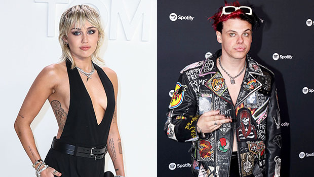 Miley Cyrus & Yungblud Spotted Showing PDA As They Hang Out At L.A.'s Rainbow Room