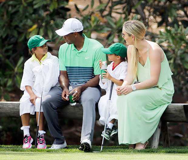 Tiger Woods Family