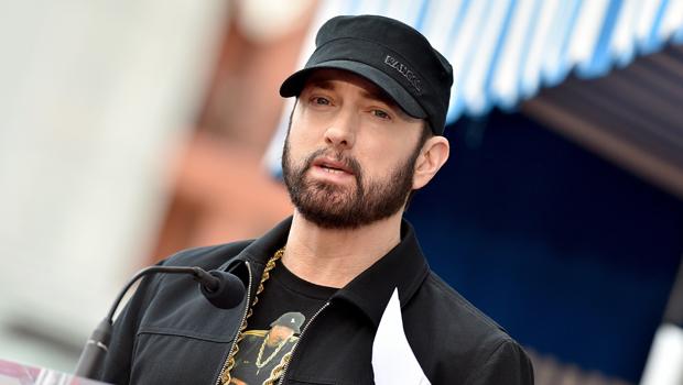 Eminem's Daughter Hailie Jade, 25, Effortlessly Models A Metallic Dress 3 Different Ways — Watch
