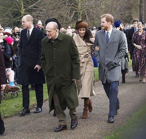 Prince Philip, Meghan Markle, Prince Harry