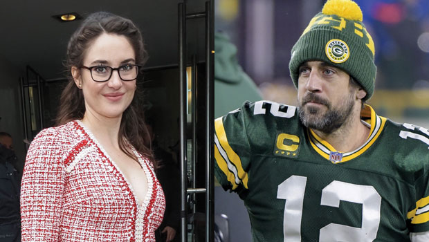 Shailene Woodley Gushes Over Aaron Rodgers Amid New 'Jeopardy!' Gig: He's 'Super Sexy' — Watch
