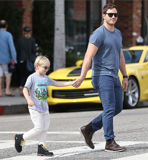 Chris Pratt Kids Pic