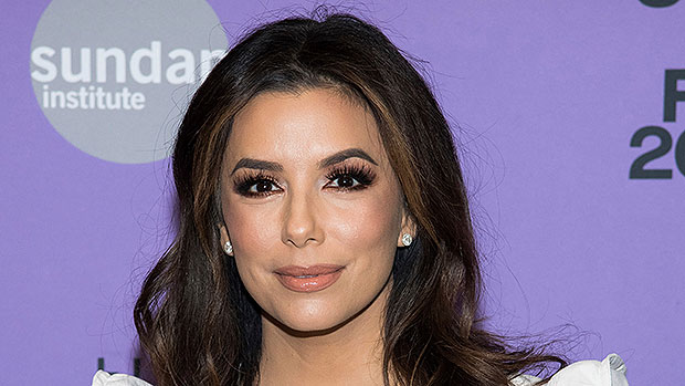 Eva Longoria's Son Santiago, 2, Shows Off His Long Hair On Easter Egg Hunt With Mom — See Pic