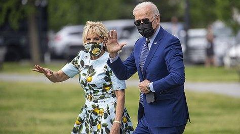 Joe Biden Picks A Dandelion For Wife Jill Before Flying Off On Marine One: Watch Sweet, Romantic Gesture