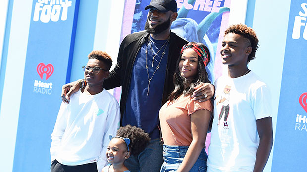 LeBron James' Daughter Zhuri, 6, Is So Cute Flexing Just Like Daddy: 'My Workout Partner' — See Pic