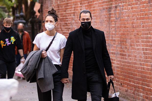 Katie Holmes & Emilio Vitolo Jr.