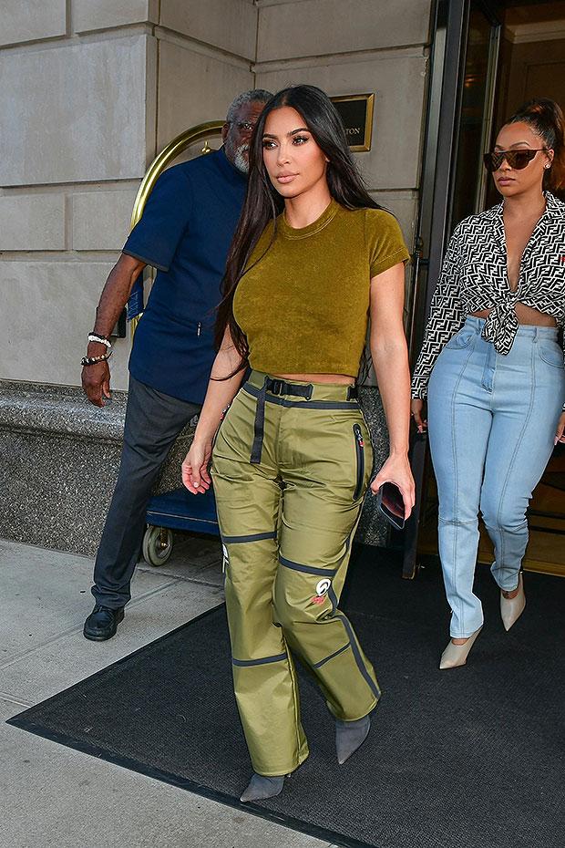 Kim Kardashian & La La Anthony