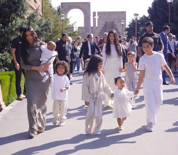 Kim Kardashian, Family