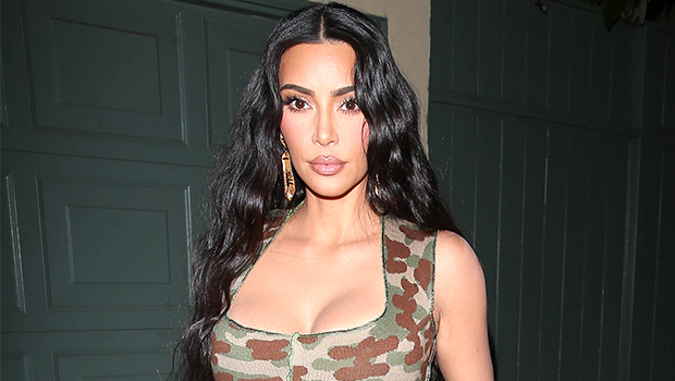 Kim Kardashian Is Perfection As She Fashions Skims' Summer Time Prepared Mesh Leggings &Amp; Fitted Tops — Images