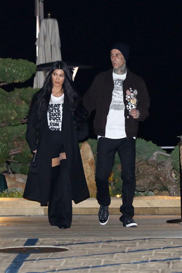 Kourtney Kardashian, Travis Barker