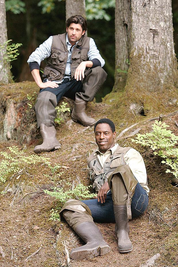 Greys Anatomy Patrick Dempsey Isaiah Washington everett embed 2