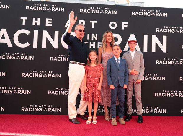 Kevin Costner, Kids