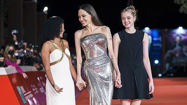 Watch Shiloh Jolie-Pitt, 15, Appears So A lot Like Dad Brad Pitt On Pink Carpet With Mother Angelina & Zahara, 15 – Google Entertainment News